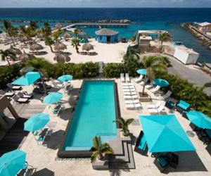 The Beach House hotel op Curacao