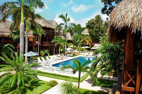 Magic Blue hotel Mexico