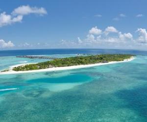Paradise Island op de Malediven