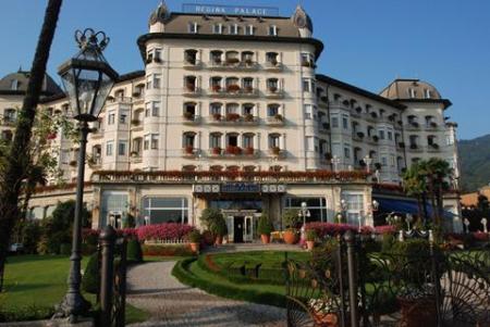 Hotel Regina Palace vlakbij Lago Maggiore
